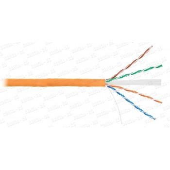 Кабель NETLAN U/UTP 4 пары, Кат.6 (Класс E), 250МГц, одножильный, BC (чистая медь), внутренний, LSZH