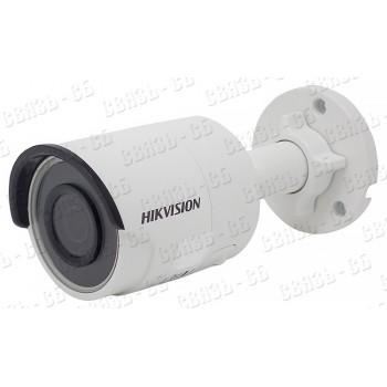 DS-2CD2083G0-I, 8Мп уличная цилиндрическая EXIR-камера с ИК-подсветкой до 30м