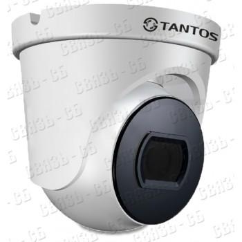 TSc-E1080pUVCf (2.8) Антивандальная купольная универсальная видеокамера 4 в 1 (AHD, TVI, CVI, CVBS)
