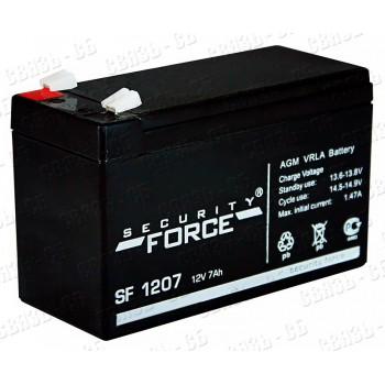 Аккумулятор SF1207 (12В, 7 А/ч)