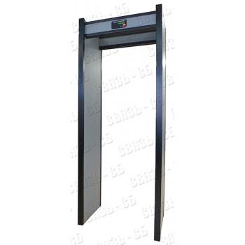 АРКА Стационарный арочный металлодетектор с микропроцессорным управлением, 86х50х220 см, 220В