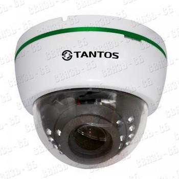 TSi-De25VPA (2.8-12) 2 мегапиксельная купольная камера с ИК подсветкой и поддержкой звука