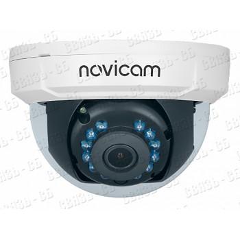 """HIT 20 NOVIcam v.1303 - видеокамера купольная внутренняя 4 в 1, 1/2.7"""" 2.1 Mpix CMOS, 1080p, ИК 20м,"""