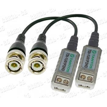 TSt-1U01P2HD  пассивные приемник-передатчик HD видео по витой паре 1-кан BNC