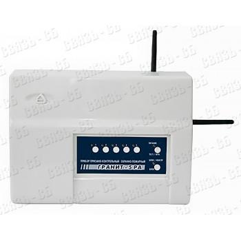 Прибор Гранит 5 РА, радиоканальный 433 Мгц – для контроля за брелоками и радиоканальными извещателям