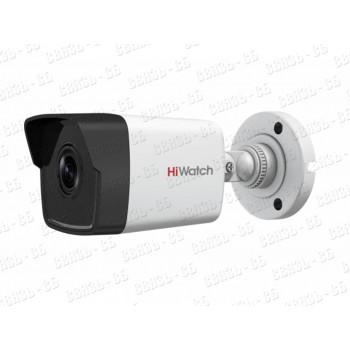DS-I250M, 2 Мп цилиндрическая IP-видеокамера с EXIR-подсветкой до 30м и микрофоном