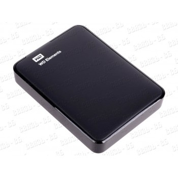 """Жесткий диск WD Original USB 3.0 2Tb WDBU6Y0020BBK-WESN Elements Portable 2.5"""" черный"""