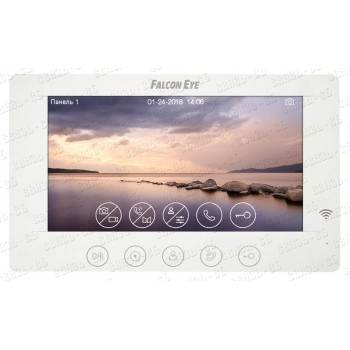 "Cosmo HD Wi-Fi Видеодомофон: дисплей 7"" TFT; поддержкой форматов AHD, CVI, TVI (1080р/720p) или CVBS"