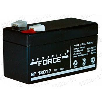 Аккумулятор SF 12012 (12В, 1,2 А/ч)