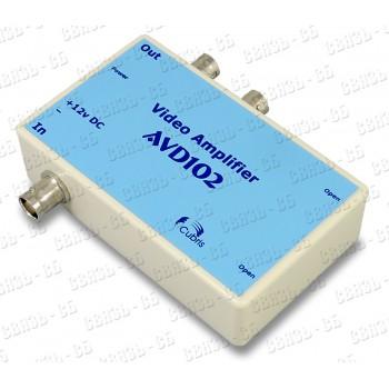 Видеоусилитель-развитвитель AVD102