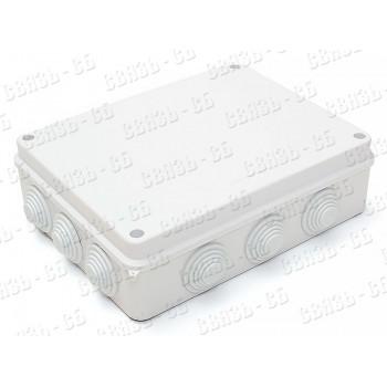 Коробка разв. герм.  240х190х90мм  ip55