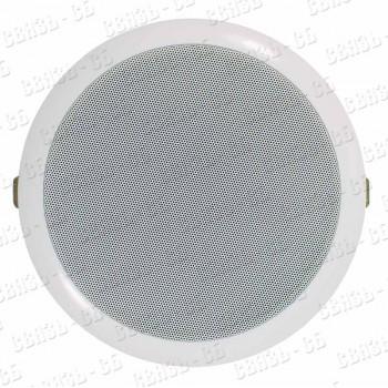 TSo-PW6a Громкоговоритель потолочный, 3/6 Вт, встраиваемый, 100В, 91дБ, 90-16000 Гц, Ø186х7