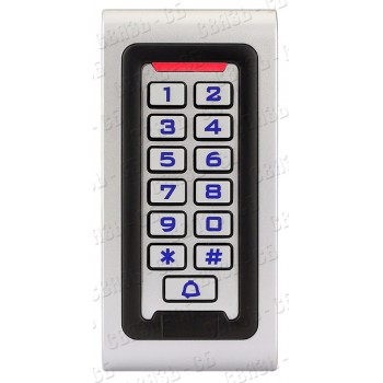 АК-601, Кодовая клавиатура,встроенный считыватель проксимити карт и брелоков