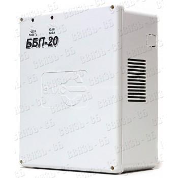 ББП-20 П Источник вторичного питания резервированный 12В, 2А       (max 3.5A) под АКБ 12В 7А•ч.