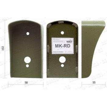 """Монтажный комплект МК-RD предназначен для защиты считывателей ключей TM, RF и кнопки """"EXIT"""""""