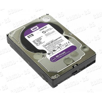 "Жесткий диск WD Original SATA-III 6Tb WD60PURZ Purple (5400rpm) 64Mb 3.5"""