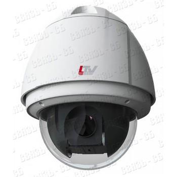 LTV CNE-230 24 IP PTZ видеокамера, 3мп, 30х кратный зум, WDR 120dB, f=4.5-135mm. CVBS output, SD car