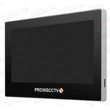 """PX-DP71TS цветной,7"""", AHD видеодомофон на две вызывные панели,сенсорный экран,слот micro SD"""
