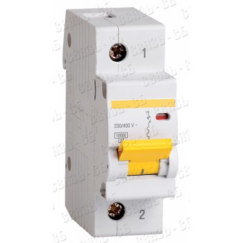 Выключатель автоматический однополюсный 32А С ВА47-100 10кА