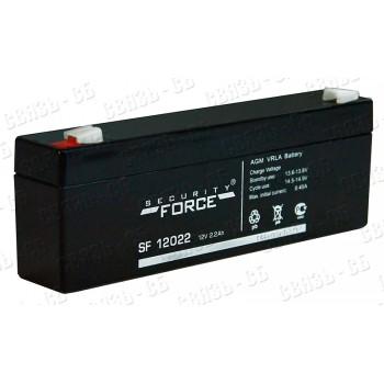 Аккумулятор SF 12022 (12В, 2,2 А/ч)
