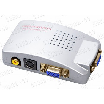 Конвертер видеосигнала SVN-VA (VGA-BNC)