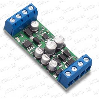 Передатчик по витой паре AVD711T HD Клемм. колодки, индикация питания, мощная грозозащита встроена