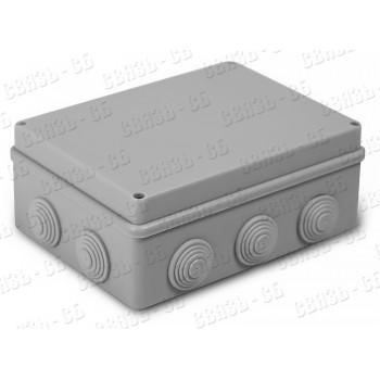 Коробка разв. герм.  190х140х70мм  ip55