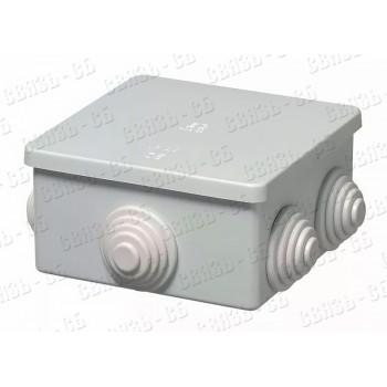 Коробка разв. герм.  80х80х50мм