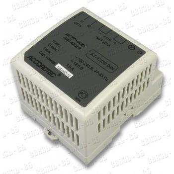 Блок питания АТ-12/30 DIN (12В/3,0А под DIN рейку)