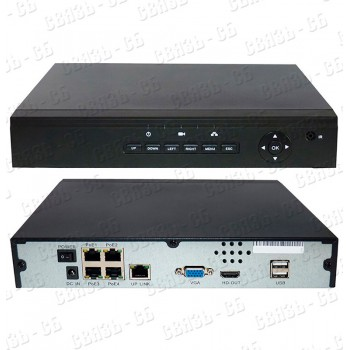 4-х канальный сетевой IP регистратор SKY N5004-POE