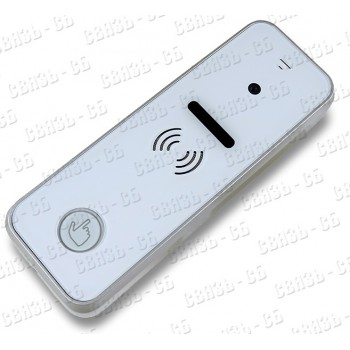 iPanel 1 (White) Вызывная панель видеодомофона, накладная, камера 700 ТВЛ., PAL, угол обзора 60 град