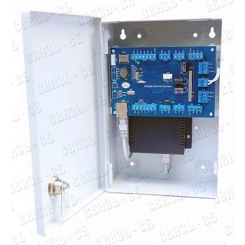 ACS-102-CE-BM  Контроллер СКУД В металлическом корпусе с замком с блоком питания 2.5A и местом под у