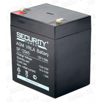 Аккумулятор SF12045 (12 В, 4.5 А/ч)