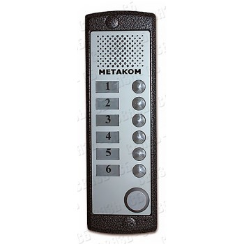 MK6-X-RF Блок вызова аудио