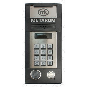 MK2018-TMRF Многоабонентый антивандальный блок вызова, емкость абонентов до 2000.