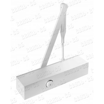 DORMA TS Profil белый компактный дверной доводчик рычажного типа с регулируемым усилием