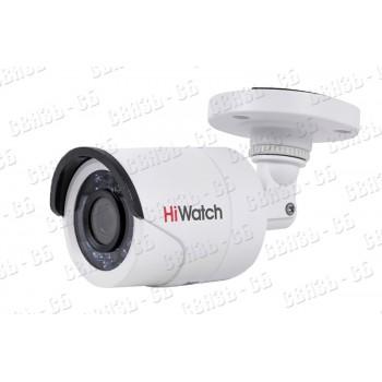 DS-T100 (2.8 mm), 1Мп уличная цилиндрическая HD-TVI камера с ИК-подсветкой до 20м