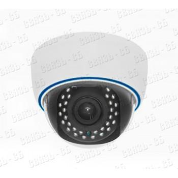 SRD-HD2000SFVF 2.8-12 Вандалозащищенная(IK10) всепогодная купольная камера с подсветкой