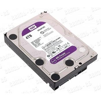 "Жесткий диск WD Original SATA-III 4Tb WD40PURZ Purple (5400rpm) 64Mb 3.5"""