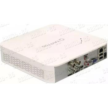 TSr-UV0418 Eco 4-х канальный универсальный видеорегистратор + 2 дополнительных канала ip (1080Р)