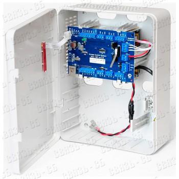 ACS-105-CE-B Контроллер СКУД в пластиковом корпусе с блоком питания.