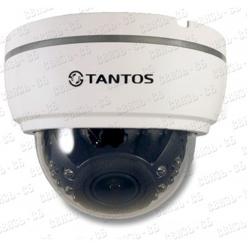 TSc-Di1080pUVCv (2.8-12) Купольная мультиформатная видеокамера 4 в1 (AHD, TVI, CVI, CVBS) 1080P «Ден