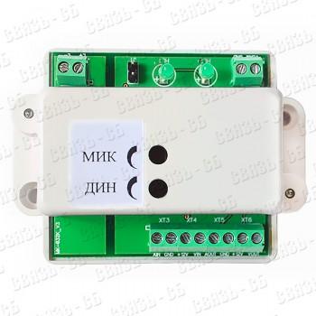 МК-032К. Адаптер предназначен для согласования и коммутации абонентской аудио линии с координатной с
