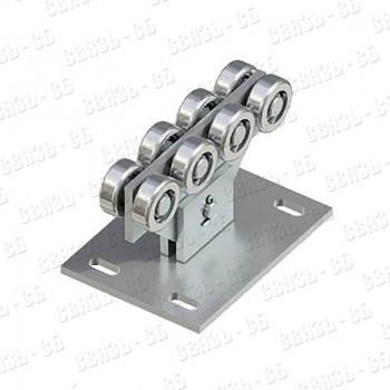 DHE710 DOORHAN Опора ролика облегченная сдвижных ворот для балки 71х60х3,5