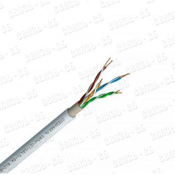 КВПнг(С)-LSLTx-5е 4*2*0,52, кабель низкотоксичный, для локальныхкомпьютерных сетей (UTP) групповой