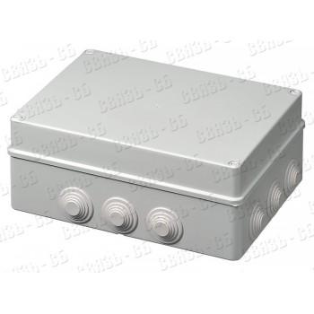Коробка разв. герм. 300х220х120  ip55 (ДКС)