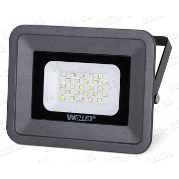 Светодиодный прожектор черный WFL-20W/06, 5500K, 20 W SMD