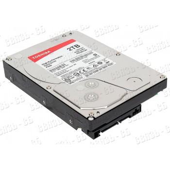 "Жесткий диск Toshiba SATA-III 2Tb HDWD120UZSVA P300 (7200rpm) 64Mb 3.5"""