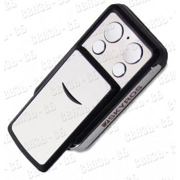 SKY-TX5 радиобрелок Напряжение питания: 12В (1 шт., тип бат. 27А); рабочая частота: 433,92 МГц