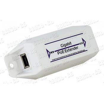 Удлинитель PoE PEXT-E интерфейса Ethernet 10/100Mbs, совм. с 802.3